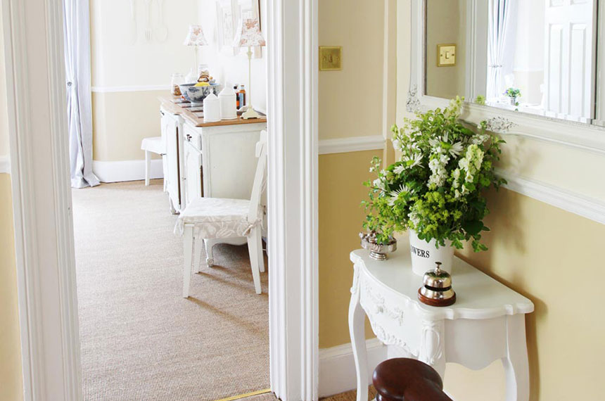 Hallway at Brindleys Boutique B&B